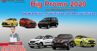 Big Promo Toyota Samarinda 2020