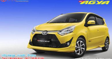 Harga Toyota Agya 2020 Kaltim