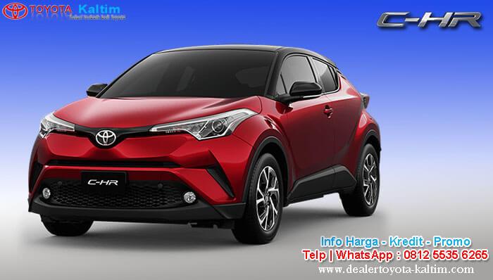 Harga Toyota C-HR Kaltim 2020